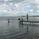 Zwemmen in het Markermeer