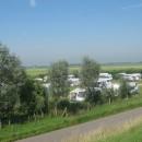 Camping gezien vanaf de weg
