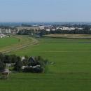 Zicht op de haven en het Fort Edam, behorend bij de stelling van Amsterdam. Met dank aan Henk Breedland vlieger luchtfotografie.