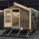 Mobi-hut in aanbouw